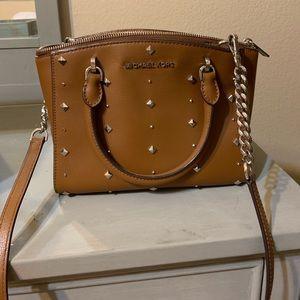 Michael Kohrs stud crossbody or shoulder purse